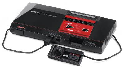 Photo of a Sega Master System (the first model)
