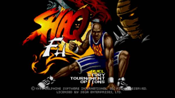 Shaq Fu is the penultimate fighting game.